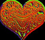 Alien heart red 200px by EXOstock