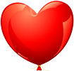 Heart balloon small 100px by EXOstock