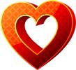 Heart 3D 100px by EXOstock