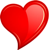 Heart modern 100px by EXOstock