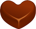 Heart chocolate 100px by EXOstock