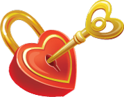 Heart lock small 140px by EXOstock