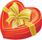 Heart chocolates box small 40px