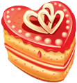 Heart cake 120px by EXOstock
