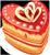 Heart cake 50px