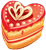 Heart cake 1 50px
