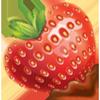 Heart strawberry1 100px