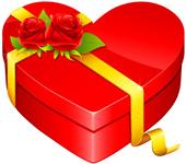 Heart chocolates box 2 small 150px by EXOstock