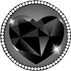 Wraith black heart 100px by EXOstock