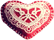 Lace heart 40px