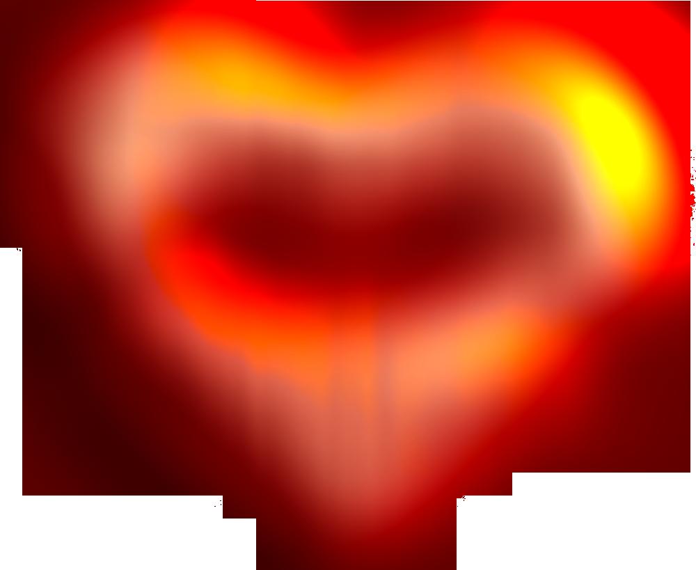 Heart kiss klipart 1000px