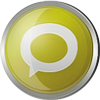 Technorati icon volumetric round 100px by EXOstock