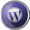 Wordpress icon volumetric round 100px by EXOstock