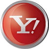 Yahoo icon volumetric round 100px by EXOstock