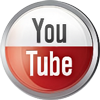Youtube icon volumetric round 100px by EXOstock