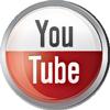 Youtube icon volumetric round 100px by EXOstock