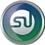 StumbleUpon icon volumetric round 45px by EXOstock
