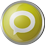 Technorati icon volumetric round 45px by EXOstock