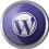 Wordpress icon volumetric round-45px by EXOstock