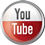 Youtube icon volumetric round 45px by EXOstock