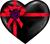 Black heart gift 50px by EXOstock