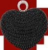Black heart jewelry 100px by EXOstock