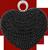 Black heart jewelry 50px by EXOstock