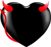Devil heart 100px