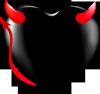 Devil heart 100px by EXOstock