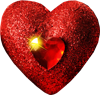 Shine heart 100px by EXOstock