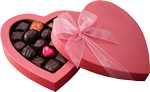 Pink box of chocolate 150px