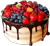 Cake with berries 50px
