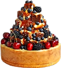 Cake with berries2 120px by EXOstock