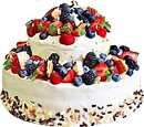 Cake with berries3 130px