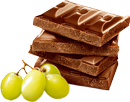 Chocolate and green grapes 130px by EXOstock