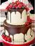 Strawberry cake with chocolate 50px