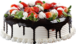 Strawberry cake with chocolate2 150px