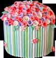 Flower cake 110px by EXOstock