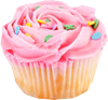 Pink muffin 100px by EXOstock