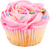 Pink muffin 50px