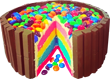 Rainbow cake M and Ms 110px by EXOstock