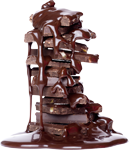 Chocolate mountain in syrup 150px by EXOstock