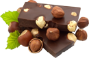 Chocolate with nuts 130px