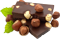 Chocolate with nuts 60px by EXOstock