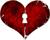 Heart key wells 50px by EXOstock