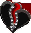 Black heart jewelry 4 100px by EXOstock