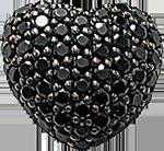 Black heart jewelry 3 150px by EXOstock