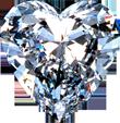 Diamond heart 110px