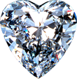 Diamond heart 110px by EXOstock