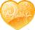 Yellow heart 50px